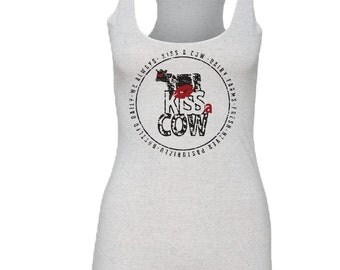 Cow Tank Top for Women - by Kiss a Cow
