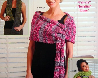 Accessories & More Trendsetter Yarns Book 4003 Knitting Pattern Booklet 2009