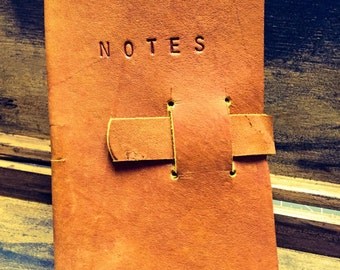 Leather Notebook (Refillable)