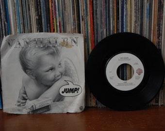 """Van Halen """"Jump"""" 1983 45 Picture Sleeve"""