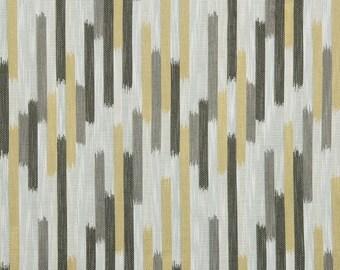Robert Allen Fabric Ikat Blocks Citrine Dwellstudio Global Modern Luxe