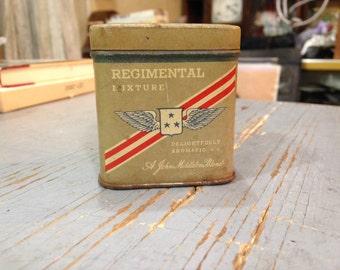 Vintage John Middleton Blend Regimental Mixture Tobacco Tin