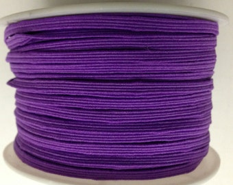 "1/8"" Skinny elastic Purple 5 yards-Baby Headband-Girl-Supplies-Craft-Sewing-Comercial-Toddler"