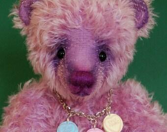 """OOAK Artist Bear """"Swizzle"""""""