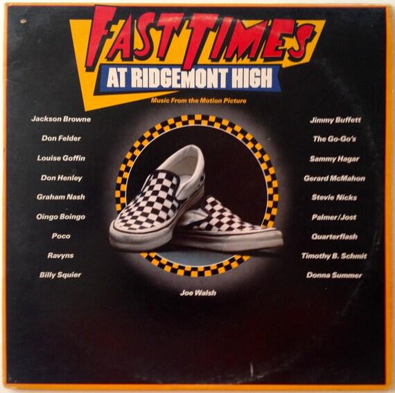 Fast Times At Ridgemont High Gatefold Double Lp Vinyl Record