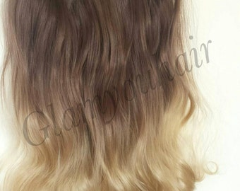 """22"""" 100g SYN Magic-HALO Secret-wire Ombre hair extension/ Many color/"""