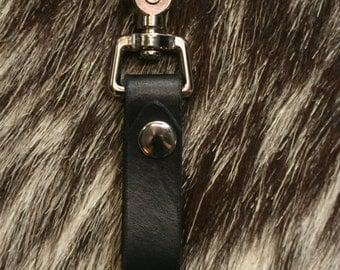 Black Tankard Strap with Belt Clip