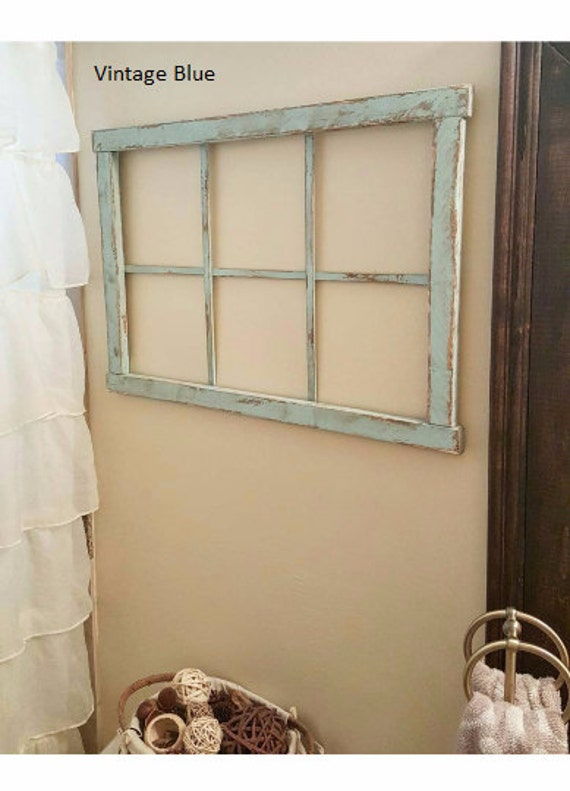 Faux Window Frame Wall Decor Home Decor by ...