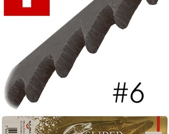 Super Pike Brand Jewelers Swiss Sawblades #6 Gross (49.554)