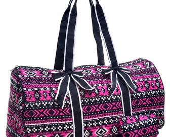 monogram atect duffel bag /duffel bag weekends/over night bag/duffle/gym/travel bag/dance bag