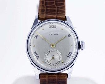 La Forge Wrist Watch Stainless Steel Swiss Movement