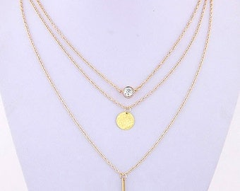 Go for the Gold Layered Necklace Wardrobe
