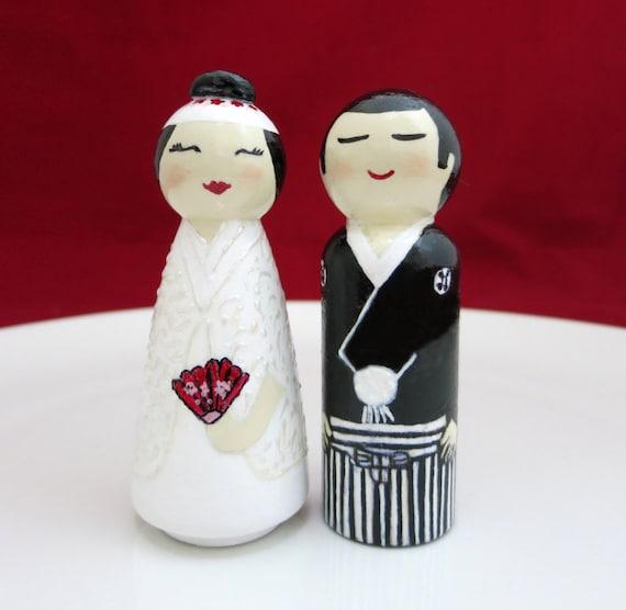 Wedding Gifts For Japanese Couple : Wedding cake topper Wedding dolls Japanese wedding dolls