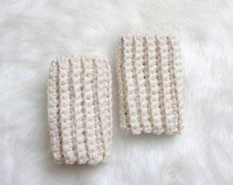 SALE Crochet Ankle Warmers - Fisherman