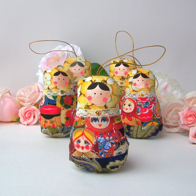 babuschka puppen ornament matrjoschka 5 puppen set. Black Bedroom Furniture Sets. Home Design Ideas