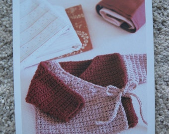 Crochet Pattern - Baby Kimono - Sizes 6 months to 2 years