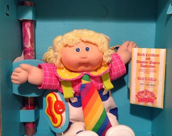 Circus Girl Cabbage Patch