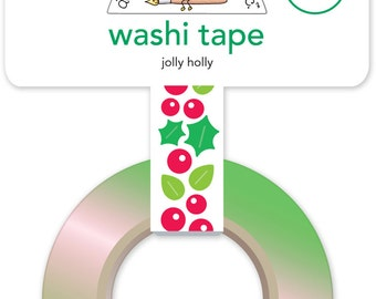 SALE! Jolly Holly Washi Tape from Doodlebug