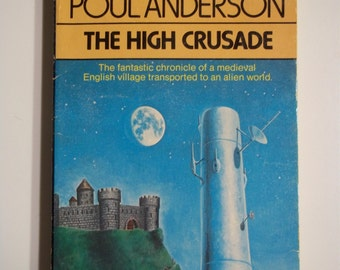 The High Crusade by Poul Anderson Berkley Books 1978 Vintage Sci-Fi Paperback