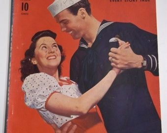 Modern Romances October 1941 Vol 22 No 5 Vintage WWII Pulp Magazine