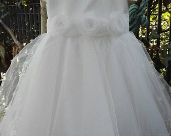 Dress shabby chic baby girl