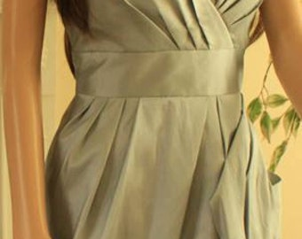 Silver Maze Christmas Party Dress UK Size 8 and Size 12