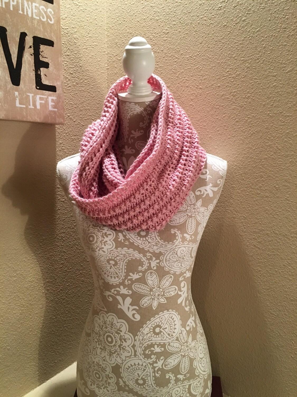 Loom Knit Infinity Scarf Pattern : Impatient Infinity Scarf - a loom knit pattern