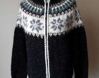 Icelandic cardigan /100% original / Lopapeysa