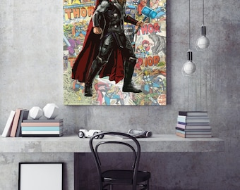 Marvel Avengers Thor Canvas Print
