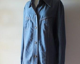 1970s Denim Jacket + Vintage Wescott Jean Jacket