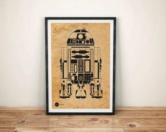 I006: R2-D2 Star Wars Robot