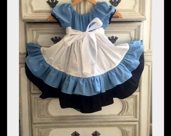 Alice in Wonderland Dress, Alice in Wonderland Party, Alice in Wonderland costume, Onederland Birthday Party