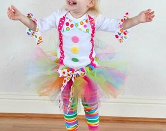 Clown Costume , Clown Birthday, Circus Birthday, Clown set