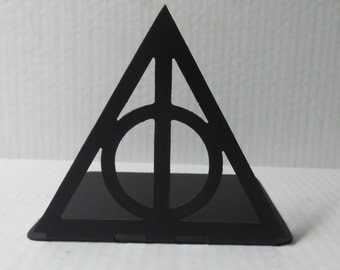 Harry Potter Inspired Deathly Hallows Always Metal Bookend