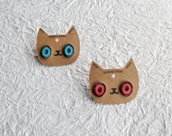 Delightful Donuts Stud Earrings