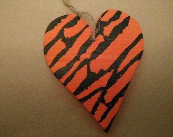 Large Wooden Hanging Heart