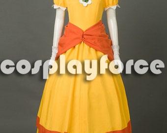 Super Mario Bros Princess Peach Cosplay Costume mp003318