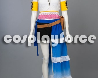 Final Fantasy X-2 Yuna Cosplay Costume mp002865
