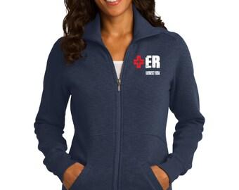 ER Nurse Jacket (rn) Navy | Emergency Department RN Jacket | ER Jacket | er Nurse | Nurse Jacket | rn Jacket | er nurse jacket