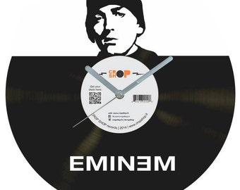 Eminem vinyl clock