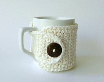 Cup Cozy, Mug Cozy, Tea Gift, Coffee Gift, Office Gift, Teacher Gift