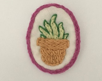 Potted Plant Badge