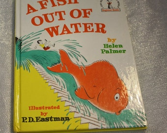 """Vintage """"A Fish Out of Water"""" Book By Helen Palmer Copywrite Renewed 1989"""