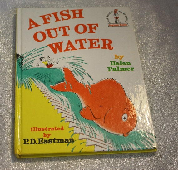 Vintage a fish out of water book by helen palmer for A fish out of water book