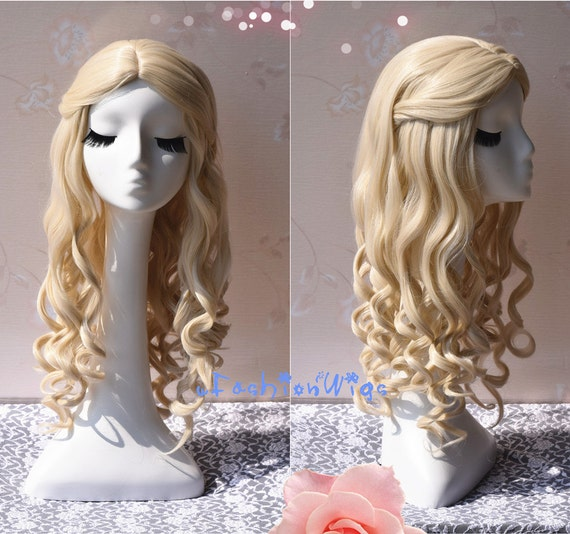 White Blonde Cosplay Wig 108