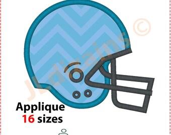 Football Helmet Applique Design. Football helmet embroidery design. Embroidery design football. Helmet embroidery. Machine embroidery design