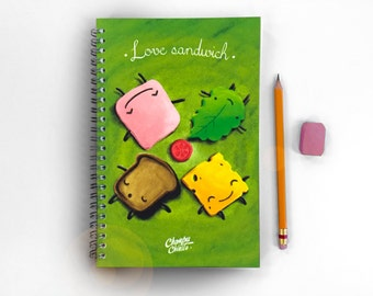 I Love Sandwich 14 x 21.5 cm
