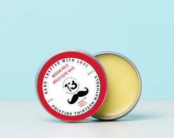 Chocolate, Cherry, Tobacco Moustache Wax