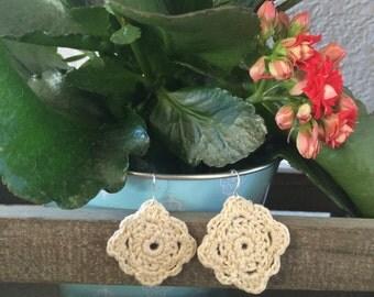 Lace Crochet Earrings