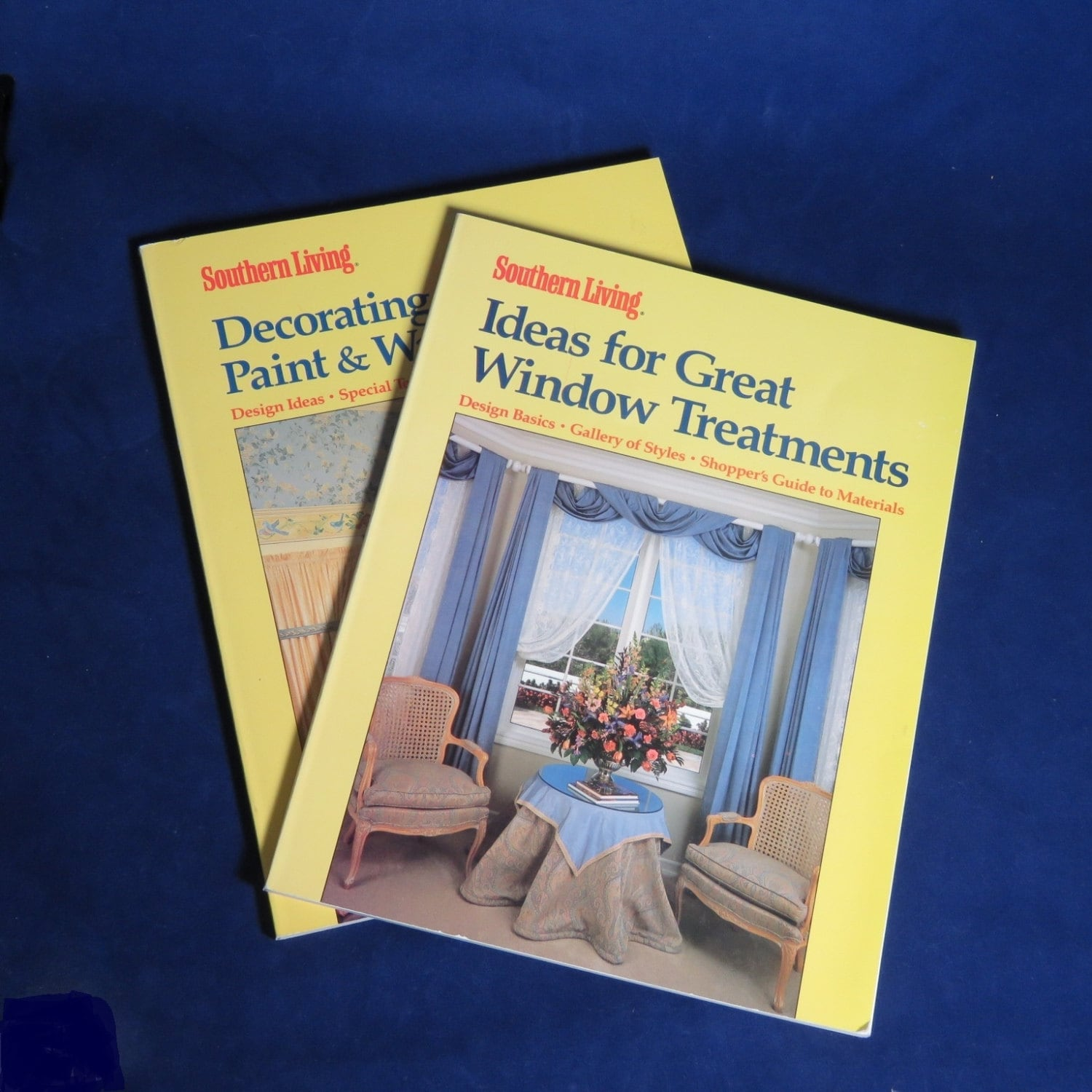 Southern Living Home Decorating Books/ Window Treatments/ Wall